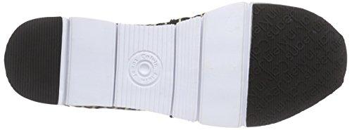 Nero bbk Klein Ck Espadrillas Jacquard patent Calvin Genna Donna Logo T8wqpR