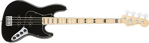 Fender American Elite Jazz Bass -Black ()