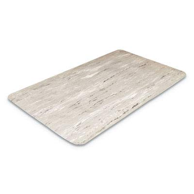 Crown - Cushion-Step Mat, Rubber, 36 x 72, Marbleized Black - Sold As 1 Each - Ideal for Job That Require a lot of Standing.
