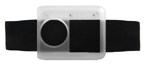 Aluminum Glove Box Cover - Agent18 Armband and Shield Kit for iPod nano 3G (Clear/Black)