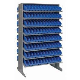 (Double Sided Pick Rack Storage System Bin Color: Green, Bin Dimensions: 4