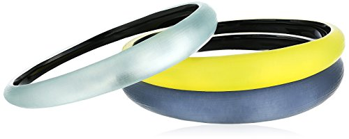 Alexis Bittar Holiday Synthetic Tapered 3 Stack Multi-Bangle Bracelet
