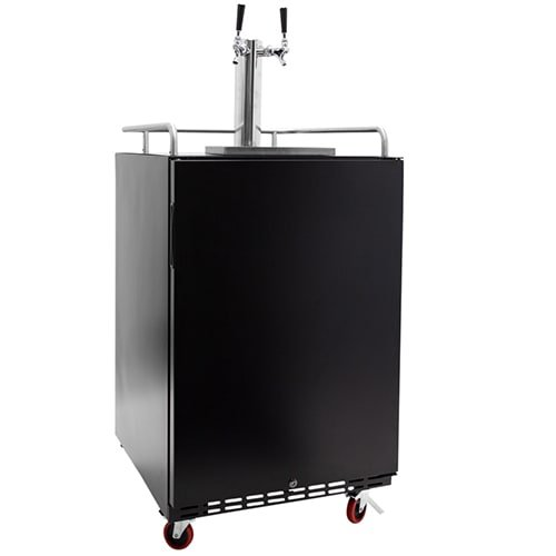 EdgeStar Full Size Dual Tap Tower Cooled Built-in Kegerator