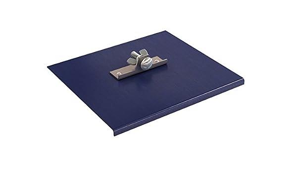 "Blue Steel 9/"" x 8/"" 1//8/"" Radius 1//4/"" Lip Bon 22-750 Walk Edger"