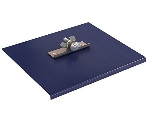 Bon 22-750 Blue Steel Walking Edger, 9-inch x 8-inch, 1/8-inch Radius, 1/4-inch Depth
