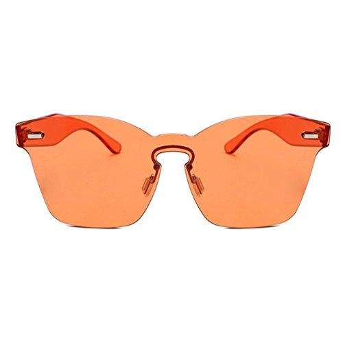 Orange Les Nuances Femmes HCFKJ Mode Rondes Lunettes AcéTate Image De Uv Soleil Unisexe Chic IwvqOUgv
