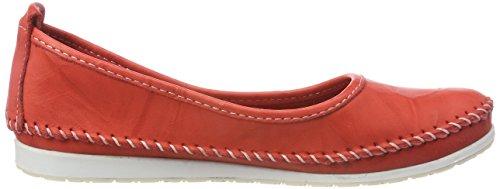 Andrea Conti Ladies 0775703 Ballerine Chiuse Rosso (rosso)
