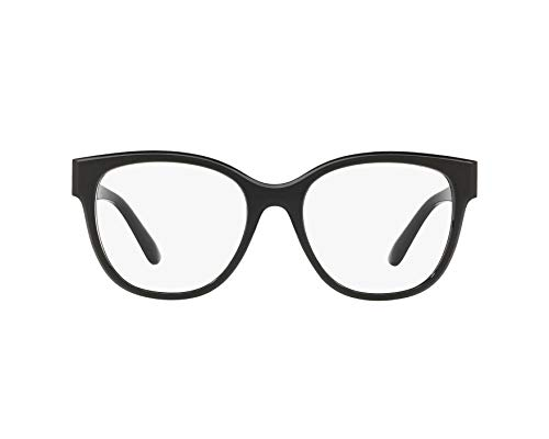 (Dolce&Gabbana DG5040 Eyeglass Frames 501-54 - Black DG5040-501-54)