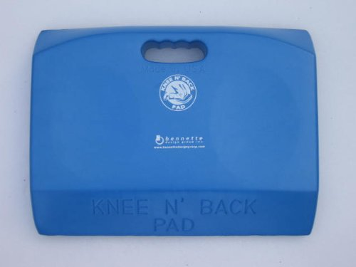Blue Knee N Back Pad for the Boat Owner or Marine Mechanic