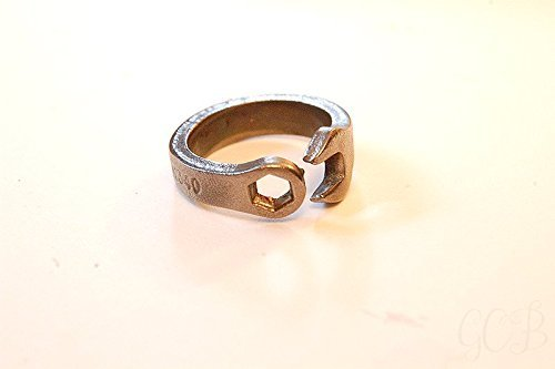 Amazoncom Mens Womens Mini Metric Wrench Bent into rings