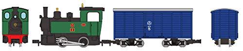 [해외] 철도 콜렉션 철코레  (narrow)내로 게이지80 묘집 선증기기관차 + 화물차 토탈 세트 디오라마 용품 (메이커 첫회 수주 한정 생산)