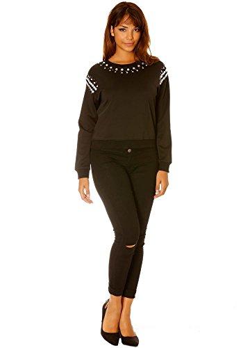 dmarkevous - Jerséi - recta - para mujer negro