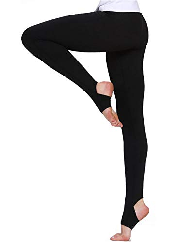 M RACLE Women's Print Active Workout Yoga Capri Leggings Stretchy Tights Pants