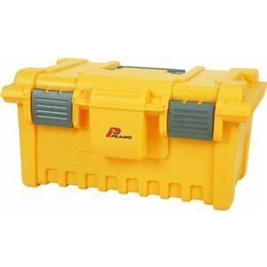 Plano 771 BAB 19-Inch Tool Box with Tray, Gray and Yellow