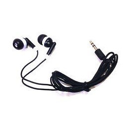 TFD Supplies Wholesale Bulk Earbuds Headphones 100 Pack For Iphone, Android, MP3 Player - Black by TFD Supplies