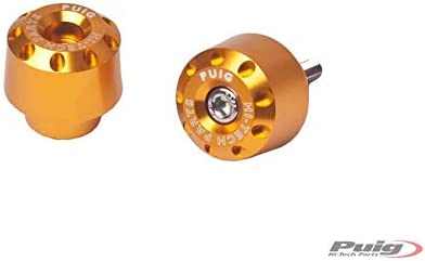 Puig 6653O Color Gold-2 Bar Ends by Pair Short Model for Triumph Street Triple//R 13-17