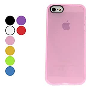 GJYLovely Design Soft Case for iPhone 5/5S (Assorted Colors) , Purple