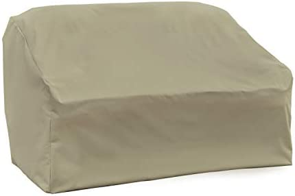 Modern Leisure Heavy Duty Patio Love Seat Cover designed to suit patio love seats as much as 55-inches Long x 33-inches Width x 38-inches Height
