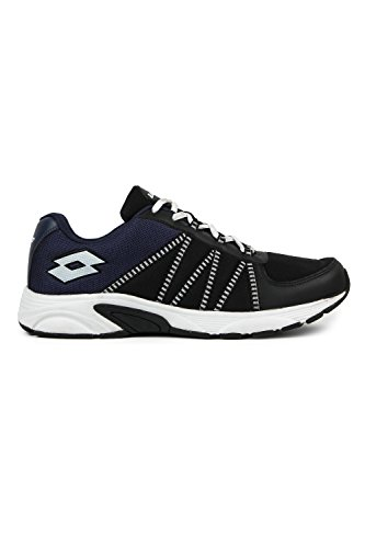 Lotto Men Redon Black/Navy Running Shoes 7 UK/India