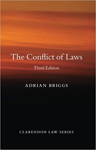 The Conflict of law