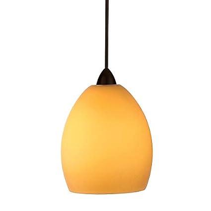 WAC Lighting MP-524-WT//BN Sarah 1 Light Canopy Pendant White//Brushed Nickel Halogen//Xenon