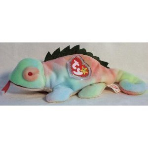 19992535715 Image Unavailable. Image not available for. Color  TY Beanie Baby - IGGY ...