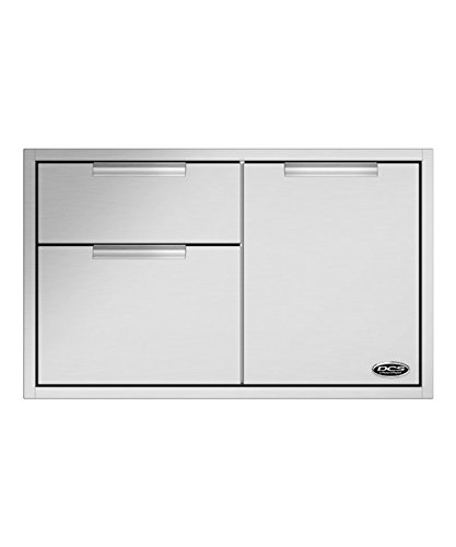 (DCS Double Access Drawers and Propane Tank Storage (71148) (ADR2-36), 36-Inch)