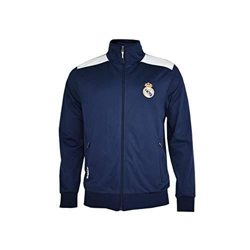 Real Madrid- Sudadera para Hombre, color Navy- White. Talla M ...