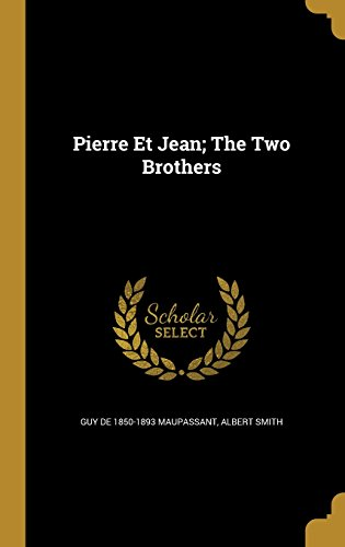 book cover of Pierre et Jean