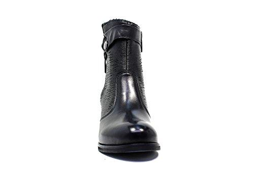C63 Tronchetto 2016 Vitello Nero r Autunno Medio Donna 2017 Nuova Tacco Collezione Pellame Polvere Inverno xUdIpAp