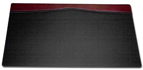 Dacasso デスクパッド トップレール付き 34 x 20インチ バーガンディ Dacasso製   B01N8TB7CM