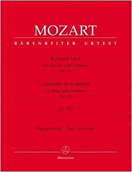 モーツァルト : ピアノ協奏曲 第20番 ニ短調 KV 466/ベーレンライター社新モーツァルト全集版2台ピアノ用編曲