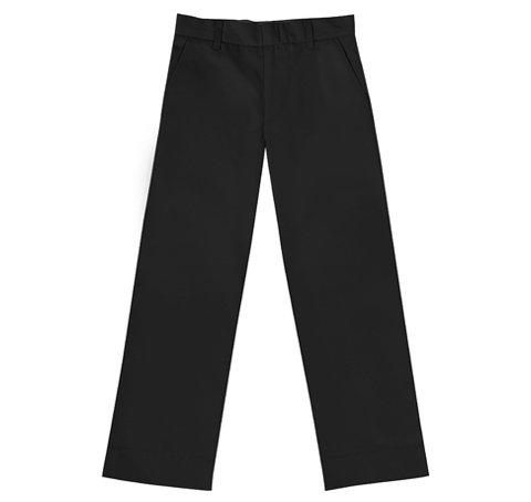 Mens Husky - CLASSROOM Big Boys' Husky Flat Front Pant, Black, 16H