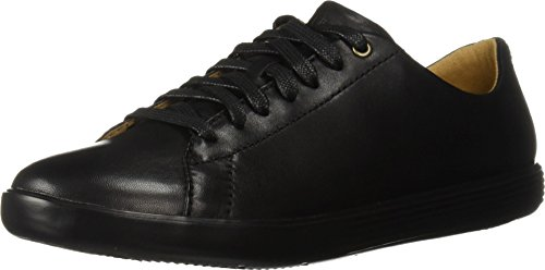 Cole Haan Women's Grand Crosscourt II Black Leather 7.5 B US B (M)
