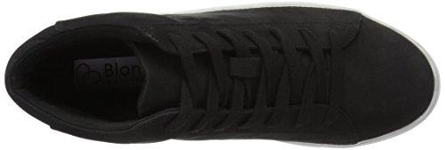 Blondo Womens Jax Waterproof Fashion Sneaker Black Nubuck 85VXl91ugY