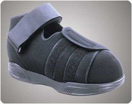 Pressure Relief Walker and Shoe Pressure Relief Shoe. Size: M, Shoe Sizes; Men's:; 6 1/2-8 1/2,; Wom