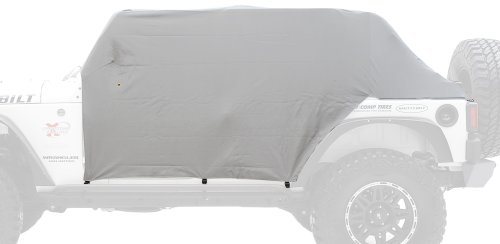 Cover Resistant Cab Water - Smittybilt 1067 Spice Water-Resistant Cab Cover with Door Flap
