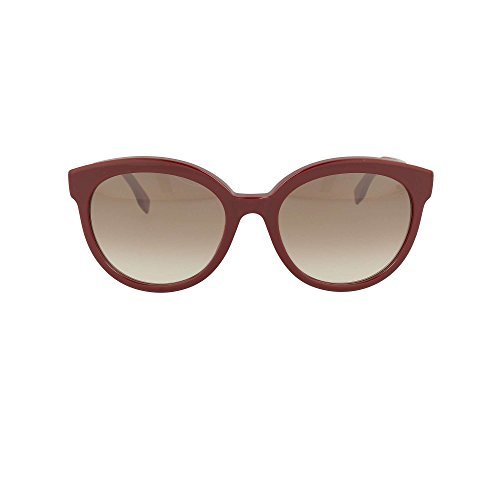 Fendi Fun Fair FF 0268/S LHF Burgundy Red - Fendi Shoes Eye