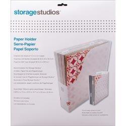 (Advantus Crafts Bulk Buy (2-Pack) Storage Studios Paper Holder 12.5 inch x 13 inch x 2.625 inch CH92600 )
