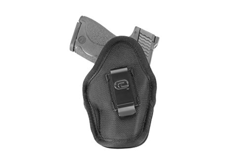 Crossfire Elite MPCTSA1S-2 Impact Sub-Compact Ambidextrous Semi-Auto Holster, Left/Right Hand, Black