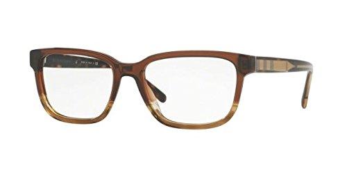 Burberry Men's BE2230 Eyeglasses Brown Gradient Striped 55mm