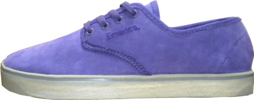 Emerica Skateboard Schuhe Laced Gaudi Grey/Purple - Shoes Skater Schuhe Sneakers Sneaker