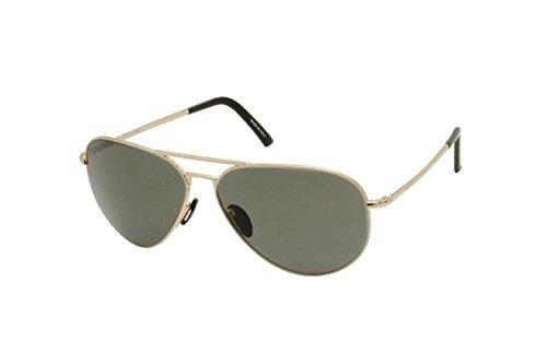 3f337afb1b6 Image Unavailable. Image not available for. Colour  Porsche Design P8478 A Light  Gold Sunglasses