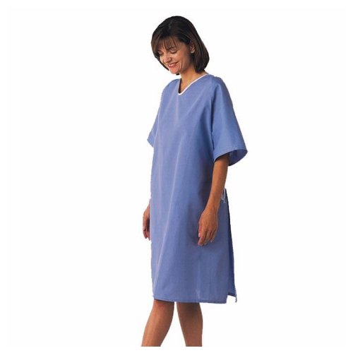 100% Cotton Hospital Gown - 3xl (Hyperbaric Gown)