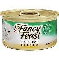 Fancy Feast Flaked Trout Feast Cat Food, 3 oz, 12 Cans