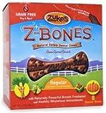 Zuke's Z-Bones Natural Edible Clean Carrot Crunch Regular Dog Dental Chews, Pack of 8, My Pet Supplies
