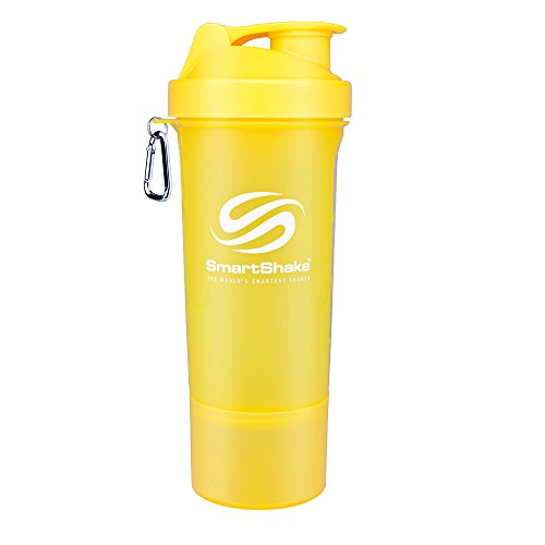 SmartShake Slim Neon Yellow 17 oz (500 ml)