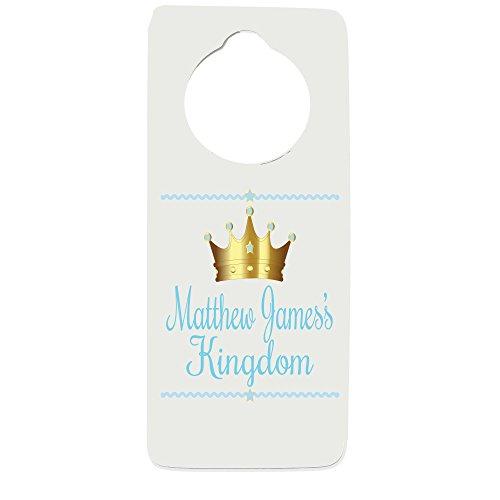 Personalized Prince Door Hanger