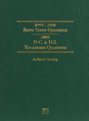 LITTLETON COIN COMPANY LCF3T 50 State & Territory Quarter Folder 99-09 LTCY0004 ()