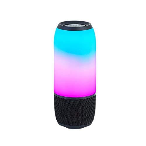 FWRSR Altavoz Bluetooth Portátil con Luces Audio Dazzle LED Altavoz Inalámbrico Sistema De Sonido 3W Música Estéreo...